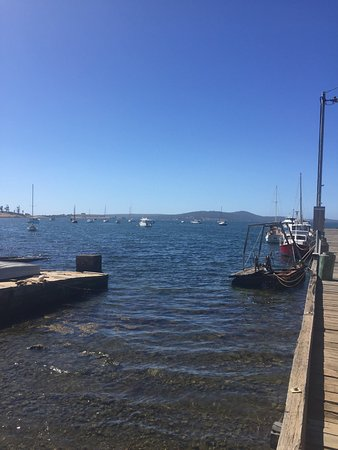 Dunalley, Australia: a proper little working-port