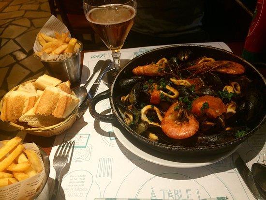 Leon De Bruxelles: Amazing food and tasty!