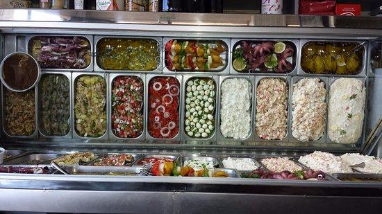 Variedad de tapas frias picture of la pepa ronda - Tapas originales frias ...
