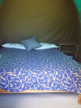 Witelsbos, Südafrika: View inside of tent nr 9