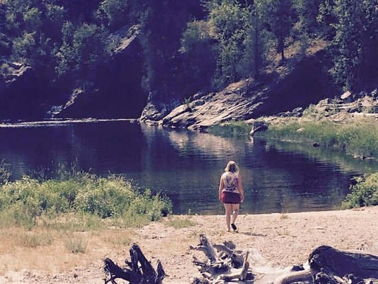 Christina Lake, Kanada: Beach area