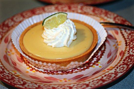 Lake George Baking Company: Mini key lime pie