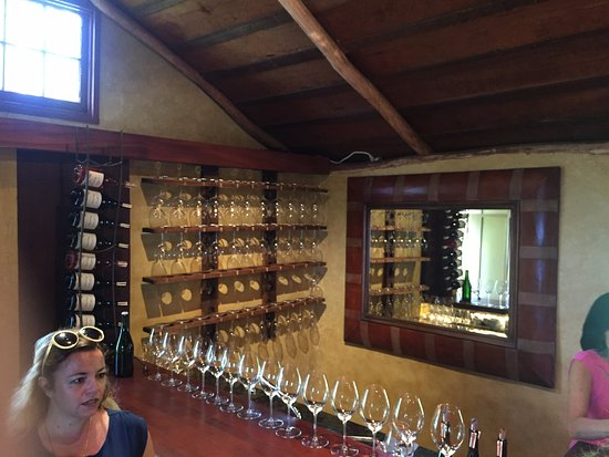 Haiku, HI: Inside the private tasting room you get to experience on the tour