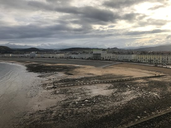 Llandudno from the Grand Hotel - Picture of The Grand Hotel
