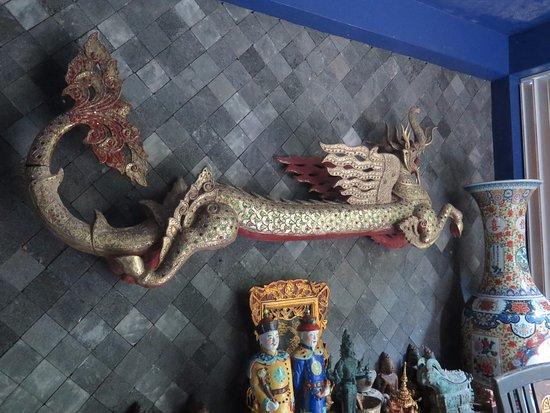 Lipa Noi, Thailand: Interior casa