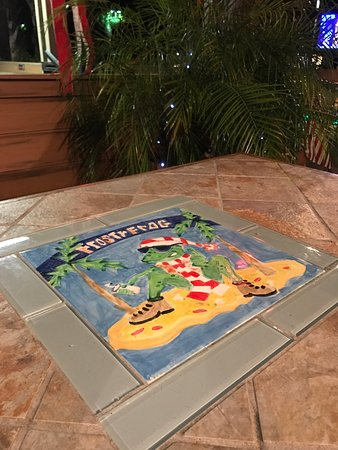 Photo of Pizza Place The Frosty Frog Pizza & Daiquiri Bar at 1 N Forest Beach Dr, Hilton Head, SC 29928, United States