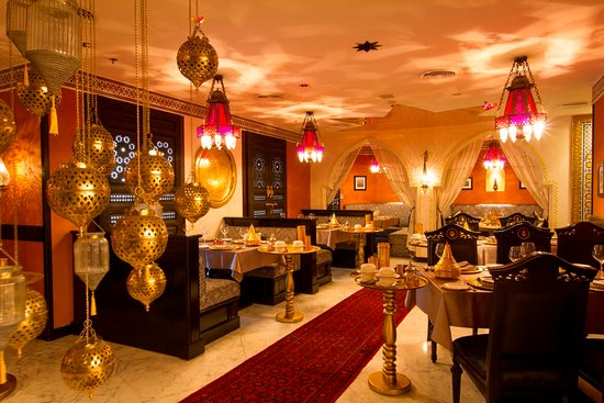 Wyndham Grand Regency Doha: Tangia Restaurant