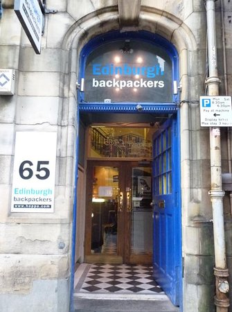Edinburgh Backpackers Hostel: Welcome in! We're open 24 hours a day 365 days of the year.