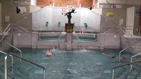 Bad Gögging, Deutschland: Nymphäum mit drei unterschiedlich temperierten Becken