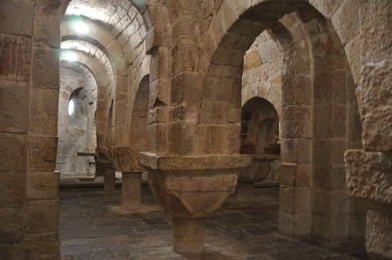Monasterio de Leyre : Cripta