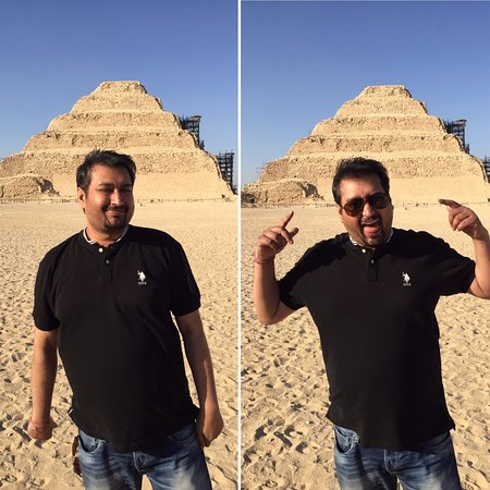 Step Pyramid of Djoser : Too Many Pyramids for a Day