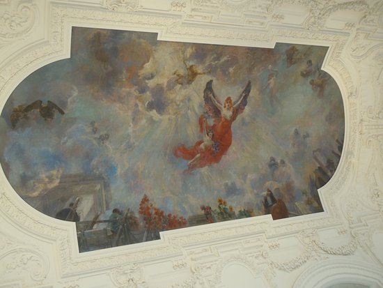 Peinture Au Plafond Du Grand Hall  Photo De Petit Palais Muse Des