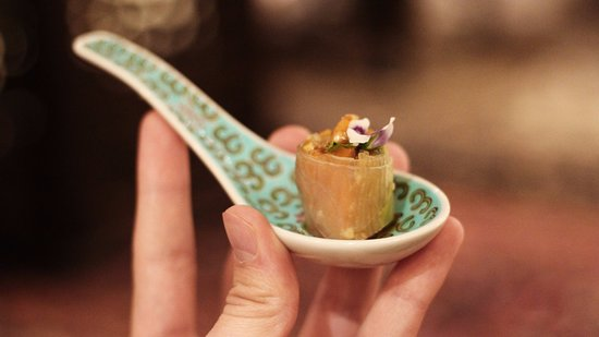 Mosaic: Welcoming amuse bouch