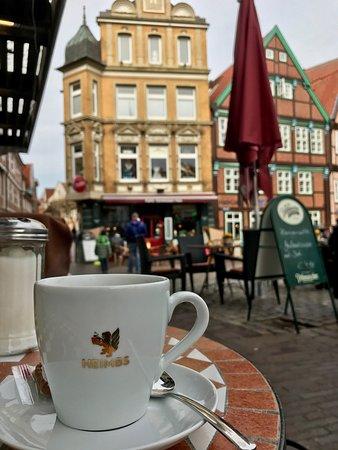 Cafe am Fischmarkt: Hmmm, Heimbs Kaffee