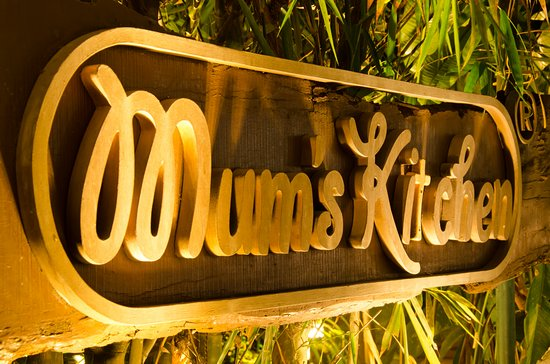 Mum's Kitchen: sign board