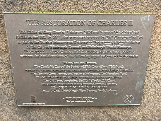 Charles II. Monument