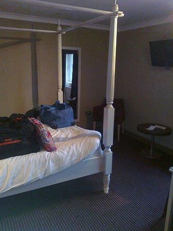 Gretna, UK: 4 poster bed