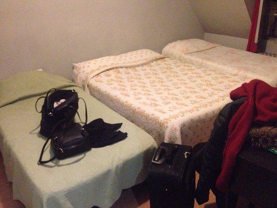 فندق برفيك مونتمارتر: Dentro la mia stanza non si puliva da mesi, ho dovuto comprare un disinfettante e dormire su un 