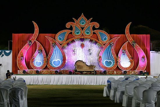 wedding reception decoration - Picture of The Park Visakhapatnam ...