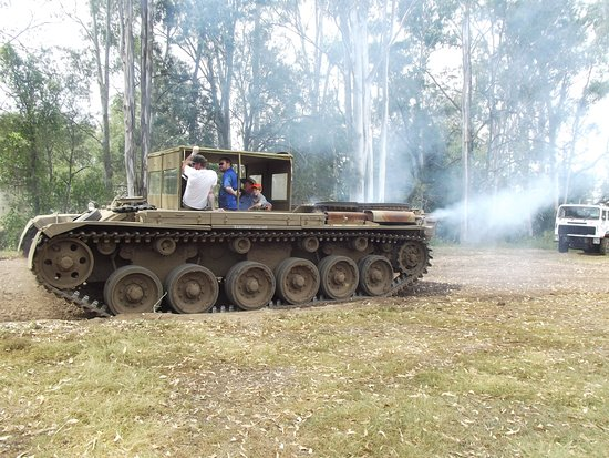 737b54d7ff9491 Centurion Driver Training Tank ride - Picture of Tank Ride ...