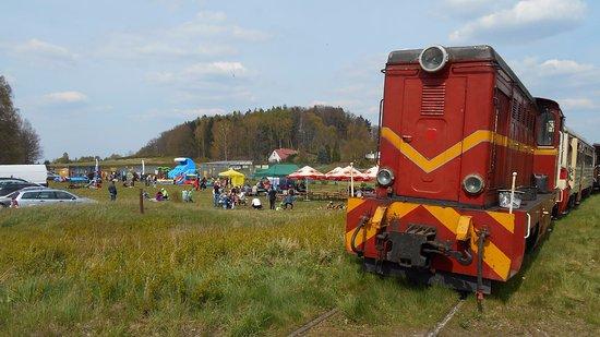 Narrow-lane rail
