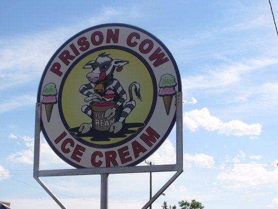Deer Lodge, MT: Prison Cow Ice Cream