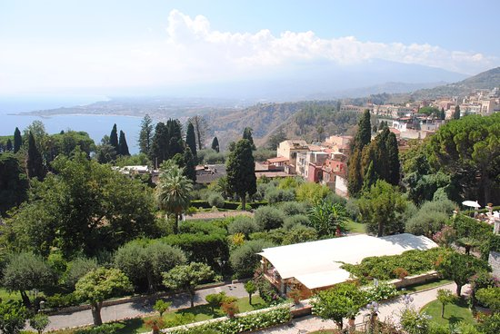 Furci Siculo, Italia: View from Taormina