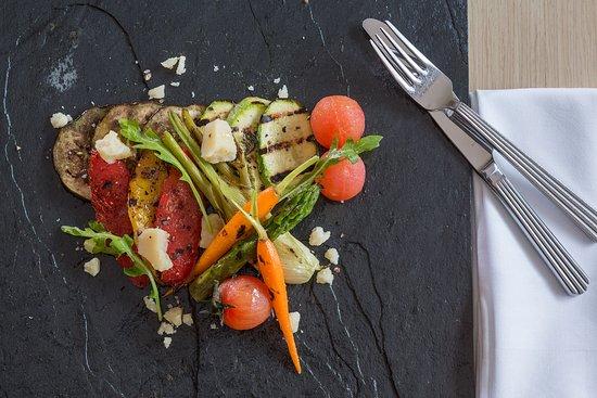 Galaxy Hotel Iraklio - Cretan bio veggies' Napoleon with aged Cretan gruyere