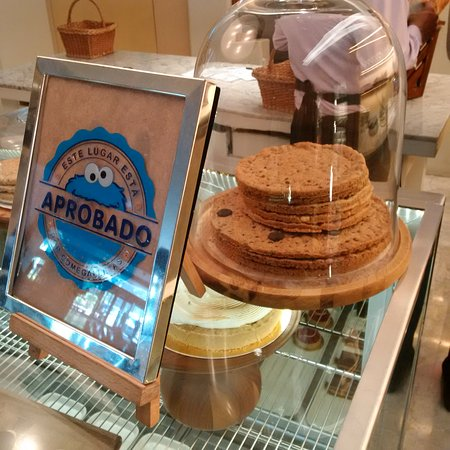 Massice cookies at the Amado coffee shop