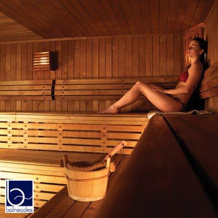 Ardon, Francia: Sauna