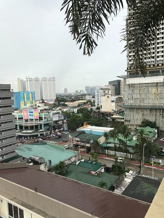 The Cocoon Boutique Hotel: Rooftop view from pool area