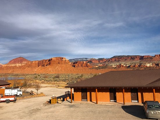 Capitol Reef Resort: View from the room