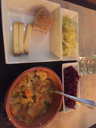 Chiasso, Zwitserland: Zuppa tipica Ticinese