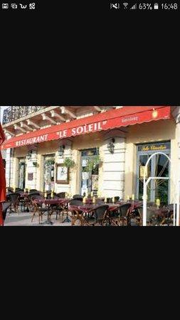 Beaucaire, France : restaurant le soleil