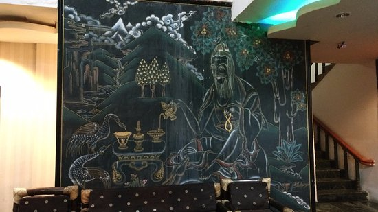 Bhutan Centennial Hotel : Reception Area