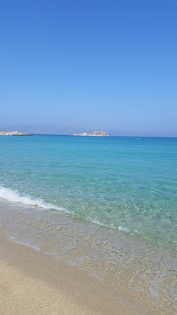 Mikri Vigla, Griekenland: spiaggia dell'hotel