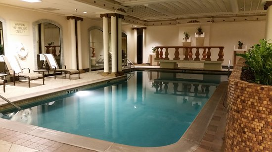 Swimming Pool with nice, warm water - Picture of The Peabody ...