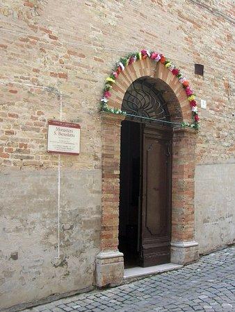 Mogliano, Italy: Ingresso convento