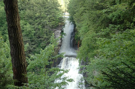 Chateaugay, NY: The Falls