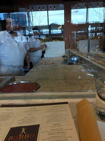 Photo of Italian Restaurant Babbo Pizzeria at 11 Fan Pier Blvd, Boston, MA 02210, United States