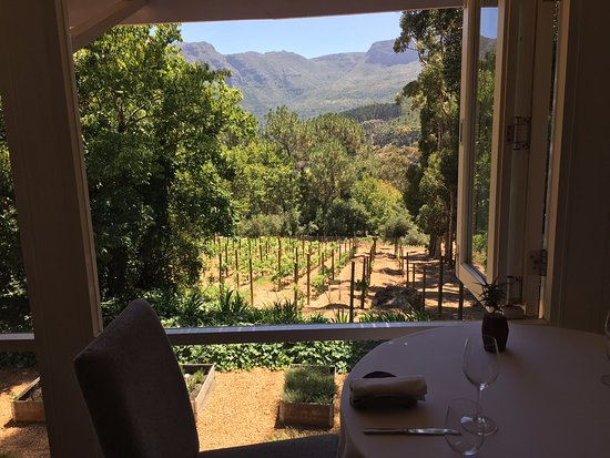 La Colombe: View from restaurant