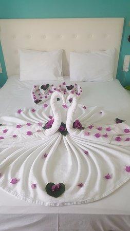Monta Verde Hotel & Villas: Beautiful towel art
