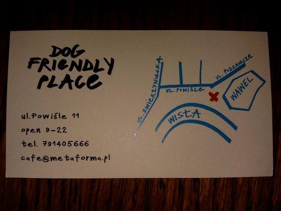 Business card picture of metaforma cafe krakow tripadvisor metaforma cafe business card colourmoves