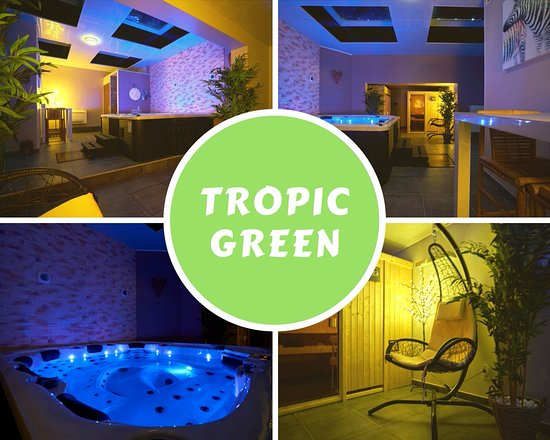 espace tropic green photo de sa na spa tournai tripadvisor. Black Bedroom Furniture Sets. Home Design Ideas