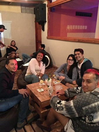 Puerto Villamil, Ecuador: Reunión de amigos.