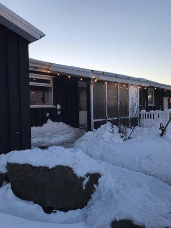 Stokkseyri, Island: Fjorubordid