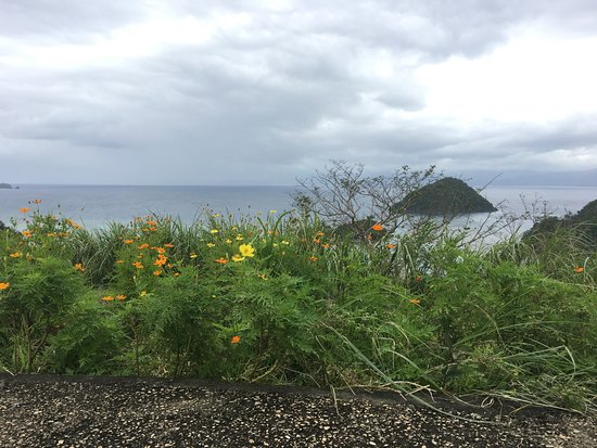 Tugawe Cove Resort: from lighthouse