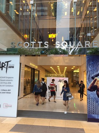 Scotts Square: Nice mall