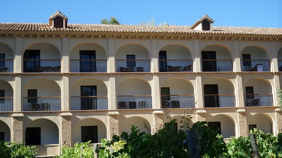 Hotel Monasterio de Piedra & Spa: Balkonzimmer