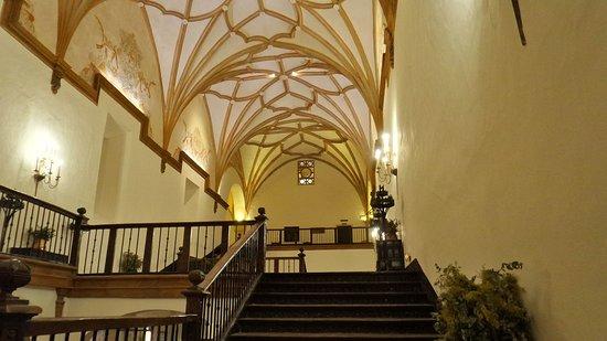 Hotel Monasterio de Piedra & Spa: Aufgang